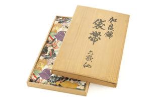 川島織物製 本金箔加良錦袋帯「六歌仙」のサブ6画像