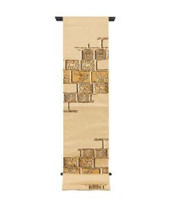 龍村平蔵製 袋帯「漠彫瑞都錦」のメイン画像