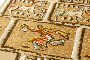 龍村平蔵製 袋帯「漠彫瑞都錦」のサブ2画像