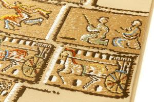 龍村平蔵製 袋帯「漠彫瑞都錦」のサブ3画像
