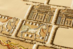 龍村平蔵製 袋帯「漠彫瑞都錦」のサブ4画像