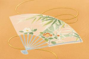ぎをん齋藤製 訪問着「扇面草花」のサブ4画像