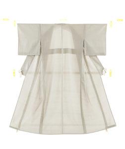 恵積五郎作 夏大島紬 着物のメイン画像