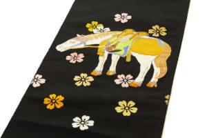 龍村平蔵製 袋帯「若駒錦」のサブ1画像