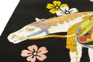 龍村平蔵製 袋帯「若駒錦」のサブ2画像