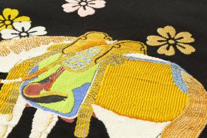 龍村平蔵製 袋帯「若駒錦」のサブ3画像