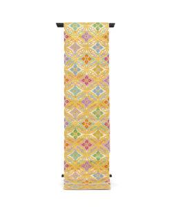 龍村美術織物製 たつむら 袋帯「鳳遊七宝文」のメイン画像