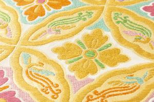 龍村美術織物製 たつむら 袋帯「鳳遊七宝文」のサブ3画像