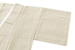 白鷹お召し 単衣着物のサブ1画像
