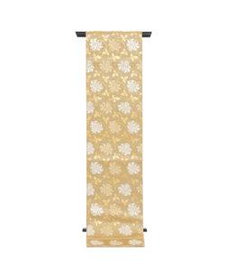 龍村平蔵製 袋帯「金地二重菱大牡丹錦」のメイン画像