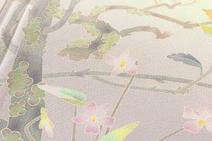 百貫華峰作 本加賀友禅訪問着のサブ8画像