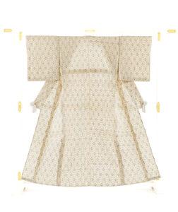 夏久米島紬 着物のメイン画像