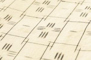 夏久米島紬 着物のサブ6画像