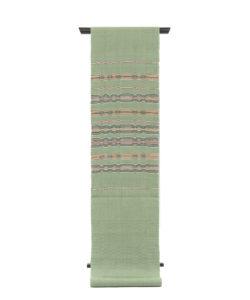 原田麻耶作 めがね織袋帯のメイン画像