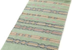 原田麻耶作 めがね織袋帯のサブ1画像