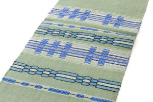原田麻耶作 めがね織袋帯のサブ4画像