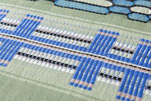 原田麻耶作 めがね織袋帯のサブ5画像