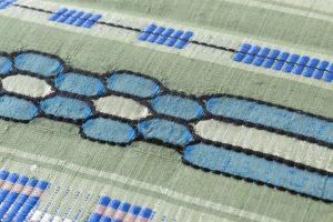 原田麻耶作 めがね織袋帯のサブ6画像