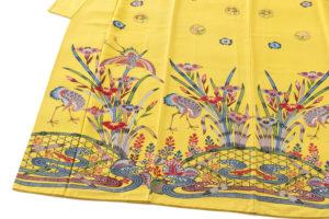 城間栄喜作 琉球紅型振袖のサブ3画像