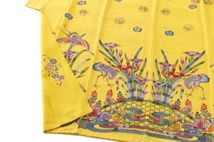 城間栄喜作 琉球紅型振袖のサブ4画像