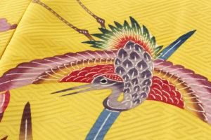 城間栄喜作 琉球紅型振袖のサブ6画像