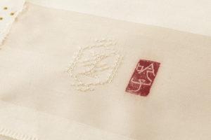 ルバースミヤヒラ・吟子作 首里花織名古屋帯地のサブ6画像