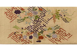 ぎをん齋藤製 紬地刺繍袋帯のサブ5画像
