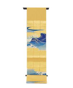 龍村平蔵製 袋帯「永徳波之図」のメイン画像