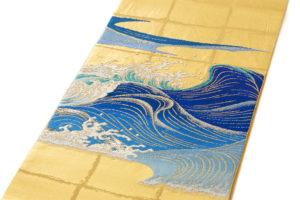 龍村平蔵製 袋帯「永徳波之図」のサブ1画像