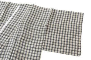 小河正義作 越後上布着物のサブ1画像