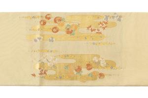 川島織物製 本金箔本極錦 袋帯「新春秋小袖山水」のサブ4画像