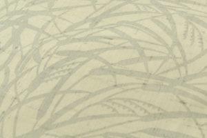 城間栄順作 夏紬 本紅型染 着尺「貝にヒレナガヤッコ」のサブ3画像