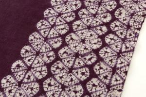 草紫堂製 南部紫根染 綿名古屋帯地のサブ2画像