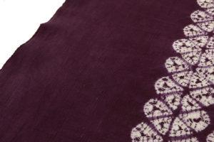 草紫堂製 南部紫根染 綿名古屋帯地のサブ4画像