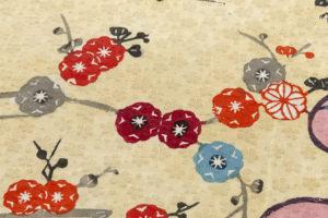 本紅型染 小紋のサブ7画像