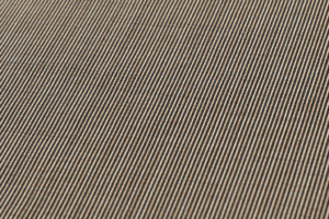 保科土山作 柿渋染 江戸小紋 紬着尺のサブ2画像
