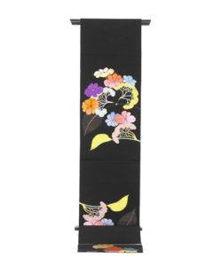 龍村平蔵製 夏袋帯「がくあぢさい」のメイン画像
