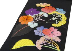 龍村平蔵製 夏袋帯「がくあぢさい」のサブ1画像