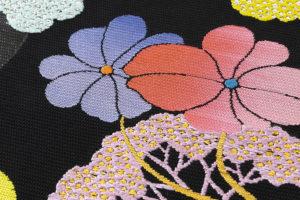 龍村平蔵製 夏袋帯「がくあぢさい」のサブ2画像