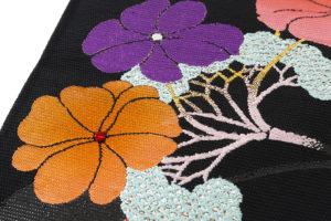 龍村平蔵製 夏袋帯「がくあぢさい」のサブ3画像