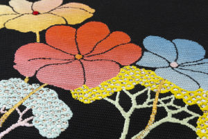 龍村平蔵製 夏袋帯「がくあぢさい」のサブ4画像