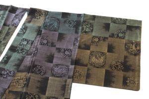 大島紬 着物「正倉院市松」のサブ1画像