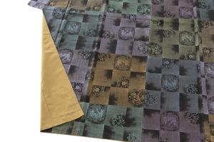 大島紬 着物「正倉院市松」のサブ3画像