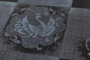 大島紬 着物「正倉院市松」のサブ6画像