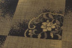 大島紬 着物「正倉院市松」のサブ7画像