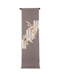 工芸きもの野口製 名古屋帯地「竹に笹取形」のメイン画像