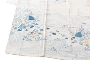 五代田畑喜八作 訪問着地のサブ2画像