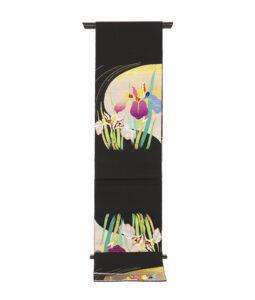 龍村平蔵製 夏袋帯「かきつばた」のメイン画像
