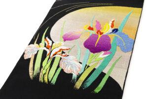 龍村平蔵製 夏袋帯「かきつばた」のサブ1画像