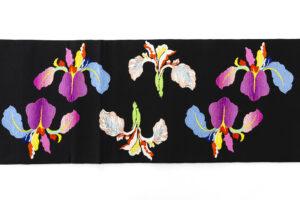 龍村平蔵製 夏袋帯「かきつばた」のサブ4画像